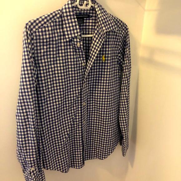NWT Ralph Lauren Button Down Dress Shirt 8